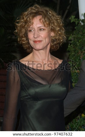 Actress CHRISTINE LAHTI at party in Los Angeles to celebrate to 100th episode of TV series The West Wing. November 1, 2003  Paul Smith / Featureflash