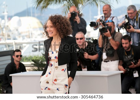 Actress Chrystele Sant Louis Augustin attend the 'Mon Roi' photocall during the 68th annual Cannes Film Festival on May 17, 2015 in Cannes, France.