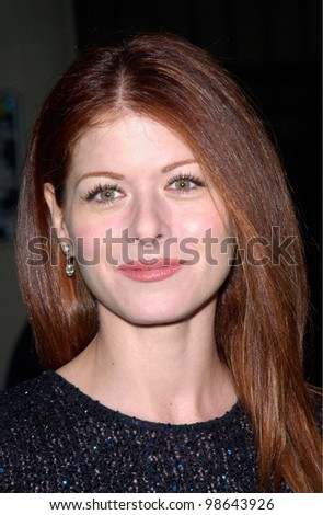 Actress DEBRA MESSING at the 3rd Annual TV Guide Awards in Los Angeles. 2001.    Paul Smith/Featureflash