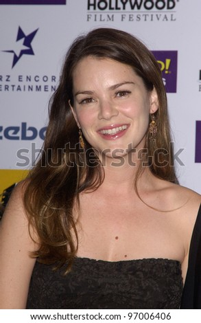 Actress JACINDA BARRETT at the 8th Annual Hollywood Film Festival's Hollywood Awards at the Beverly Hills Hilton. October 18, 2004