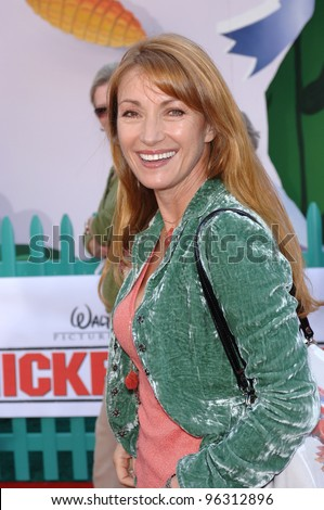 Actress JANE SEYMOUR at the world premiere of Walt Disney's Chicken Little at the El Capitan Theatre, Hollywood. October 30, 2005 Los Angeles, CA  2005 Paul Smith / Featureflash - stock photo