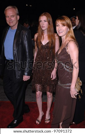 Actress JANE SEYMOUR & husband JAMES KEACH & daughter KATHERINE FLYNN at the world premiere of Beauty Shop. March 24, 2005 Los Angeles, CA.  2005 Paul Smith / Featureflash