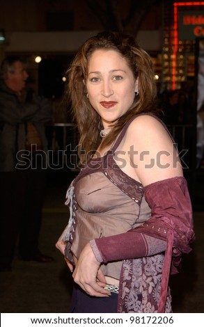 Actress JENNIFER BLANC at the world premiere, in Los Angeles,  of We Were Soldiers. 25FEB2002.  Paul Smith/Featureflash