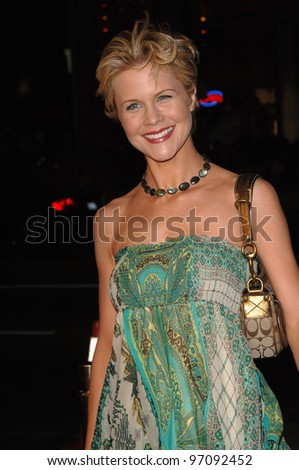 Actress JOSIE DAVIS at the Los Angeles premiere of Sahara, at the Grauman's Chinese Theatre, Hollywood. April 04, 2005  Los Angeles, CA.  2005 Paul Smith / Featureflash - stock photo