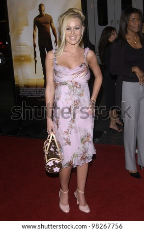 Actress KATIE LOHMANN at the world premiere, in Hollywood, of A Man Apart. April 1, 2003