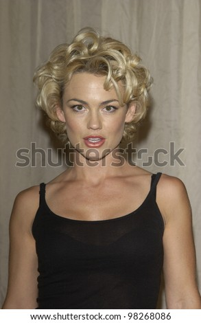 Actress KELLY CARLSON at the 4th Annual Self Day Celebration at the Peninsula Hotel, Beverly Hills. April 9, 2003