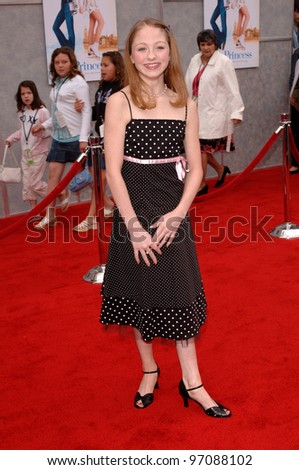Actress KIRSTEN OLSON at the Hollywood premiere of her new movie Walt Disney Pictures' Ice Princess, at the El Capitan Theatre. March 13, 2005: Los Angeles, CA.  2005 Paul Smith / Featureflash
