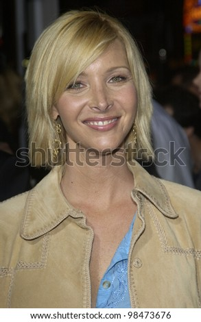 Actress LISA KUDROW at the Los Angeles premiere of her new movie Wonderland. Sept 24, 2003  Paul Smith / Featureflash