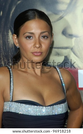 Actress MELISSA MARSALA at the Los Angeles premiere of Cellular. September 9, 2004