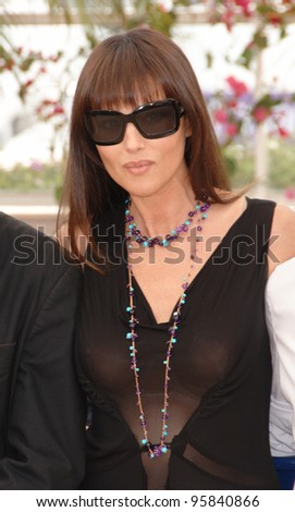 Actress MONICA BELLUCCI at the photocall for the official jury at the 59th Annual International Film Festival de Cannes. May 17, 2006  Cannes, France.  2006 Paul Smith / Featureflash - stock photo