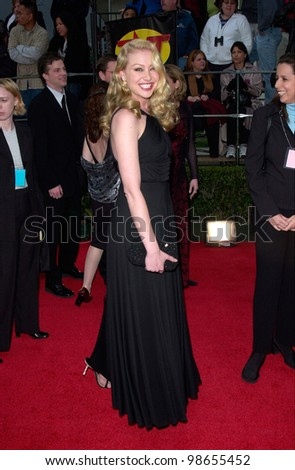 Actress PORTIA DE ROSSI at the 7th Annual Screen Actors Guild Awards in Los Angeles. 11MAR2001.    Paul Smith/Featureflash