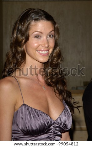 Actress SHANNON ELIZABETH at the 18th Annual Genesis Awards at the Beverly Hilton Hotel, Beverly Hills, CA. March 20, 2004