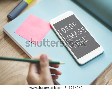 Ad Advertising Branding Business Commerce Media Concept - stock photo