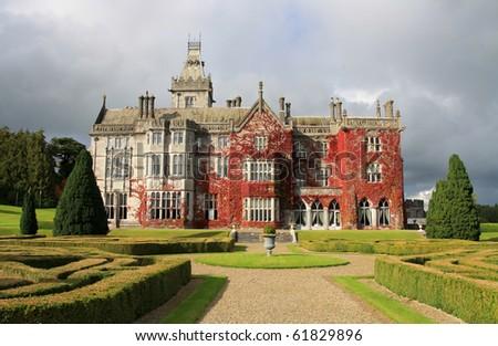 Adare castle hotel - stock photo
