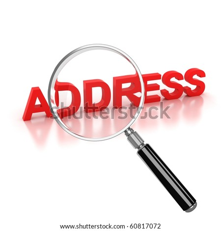 address search icon