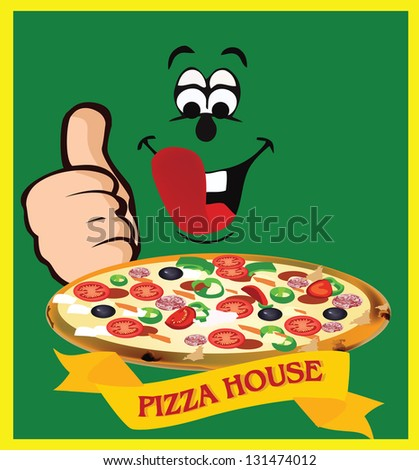 adhesive pizza