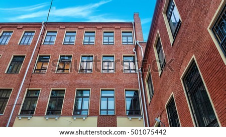 Brick Buildings Stock Images, Royalty-Free Images ...