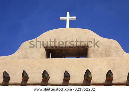 Adobe House New Mexico - stock photo