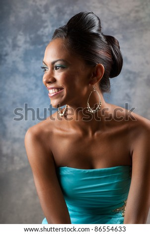 Adorable and beautiful East Indian Woman - stock photo