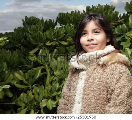 Adorable little child - stock photo