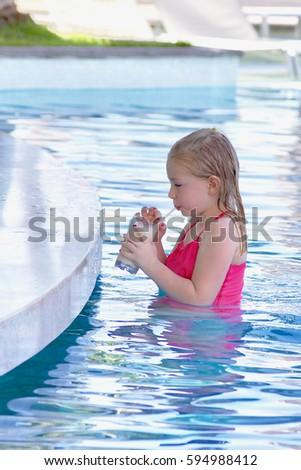 Adorable Child Christmas Pajamas Opening Present Stock Photo 531947638 Shutterstock