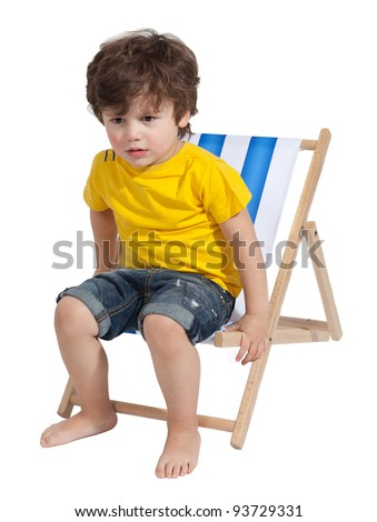 Toddler chair stock photos royalty free images for Toddler sitting chair