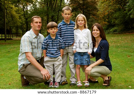 Adorable Young Family