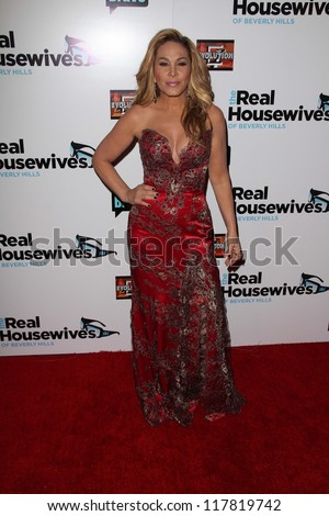 "Adrienne Maloof at ""The Real Housewives of Beverly Hills"" Season Three Premiere Party, Roosevelt Hotel, Hollywood, CA 10-21-12"