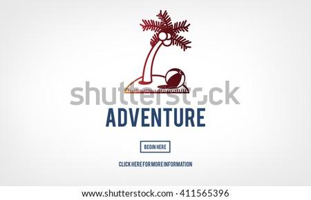 Adventure Experience Explore Journey Travel Concept - stock photo