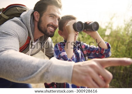 Adventures for boy is always good idea for weekend  - stock photo