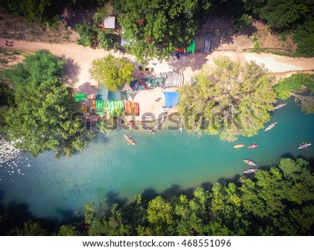 Waterfall beautiful tropical setting stock photo 1181079 for Barton creek nursery