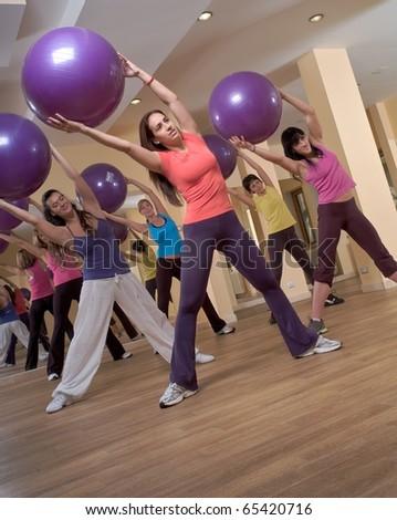 Aerobics - stock photo
