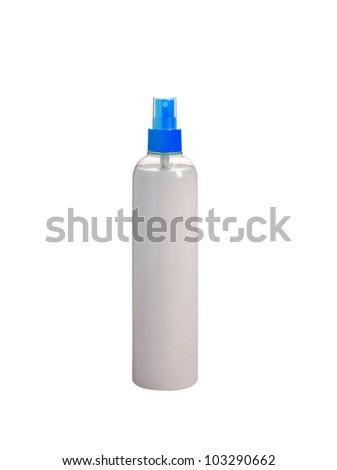 Aerosol isolated on white - stock photo