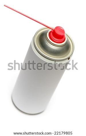 Aerosol Spray isolated on the white background - stock photo