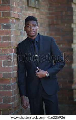 African american man in suit, successful man, businessman, black fashion model, beautiful young adult, student campus, black man in suit, walking, posing, black suit tall man, fashion african model