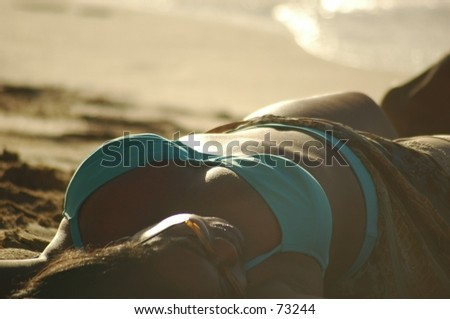 African-American Woman - stock photo