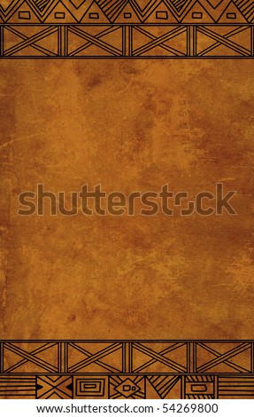 African traditional patterns - stock photo