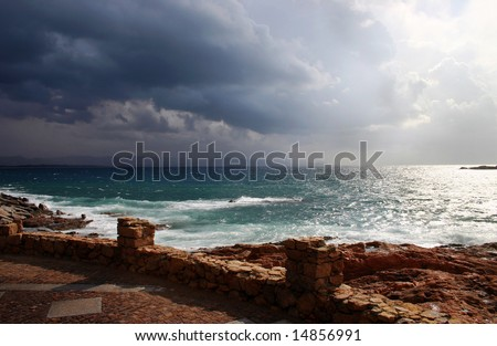 After a storm - stock photo