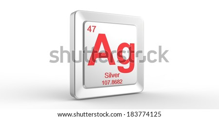 Ag symbol 47 material silver chemical stock illustration 183774125 ag symbol 47 material for silver chemical element of the periodic table urtaz Choice Image