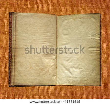 Aged book
