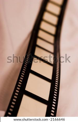 aged film - stock photo