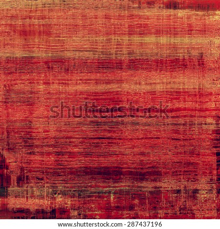Aged grunge texture. With different color patterns: brown; red (orange); pink - stock photo