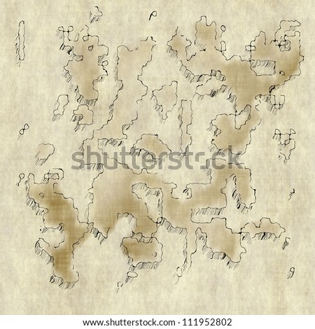 aged map background