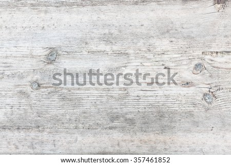Aged natural gray wood texture background - stock photo