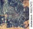 Aged paper texture, grunge background - stock