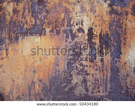 aged rusty wall, texture