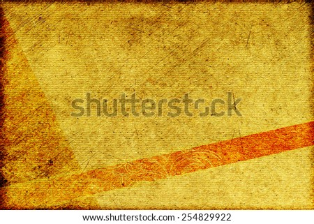 aged vintage paper texture, vintage paper background for your message - stock photo