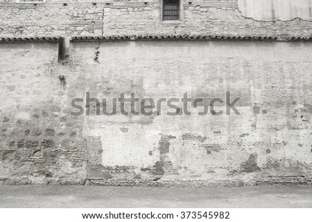 Aged wall texture or background - stock photo