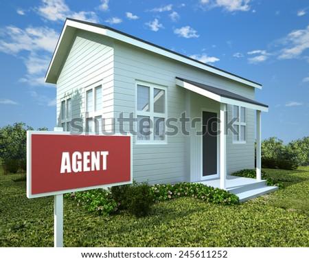 AGENT - stock photo