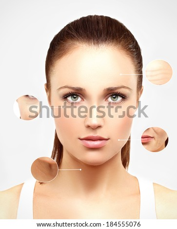 Aging.  - stock photo